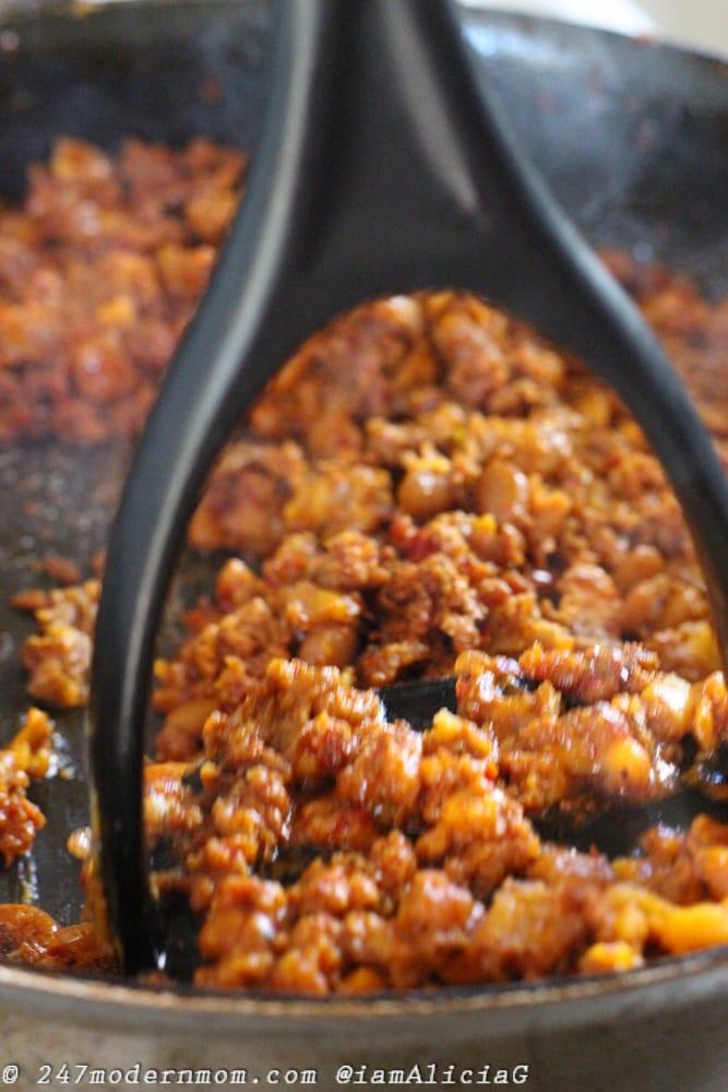 Chorizo Smash