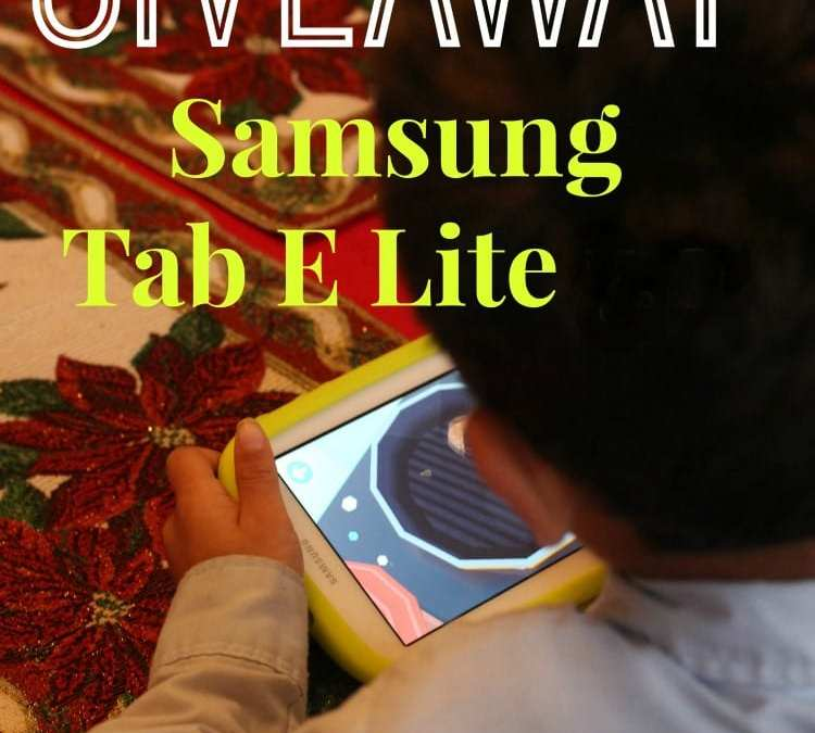 WIN a Samsung Kids Tab E Lite + 1 Free Year of Samsung Kids