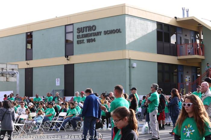 Comcast Cares Day Sutro Elementary