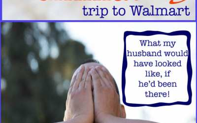 Embarrassing moments and my utterly humiliating trip to Walmart!