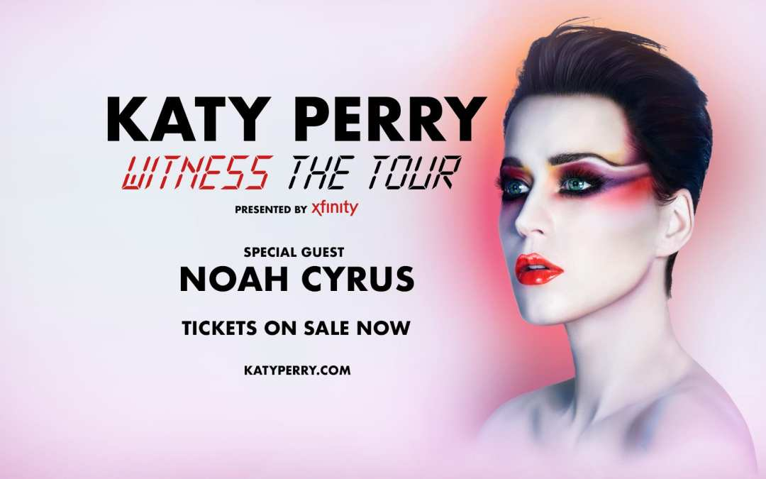 WIN Katy Perry Tickets