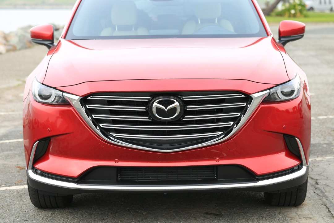 Mazda CX-9 Review Front Grill