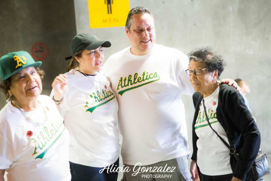 Oakland Athletics celebrates Cesar Chavez Day Chavez Family