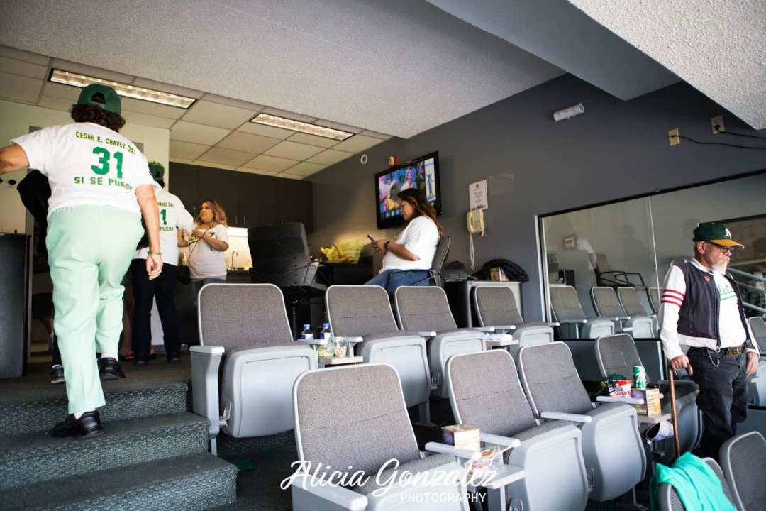 Oakland Athletics celebrates Cesar Chavez Day Suite 2