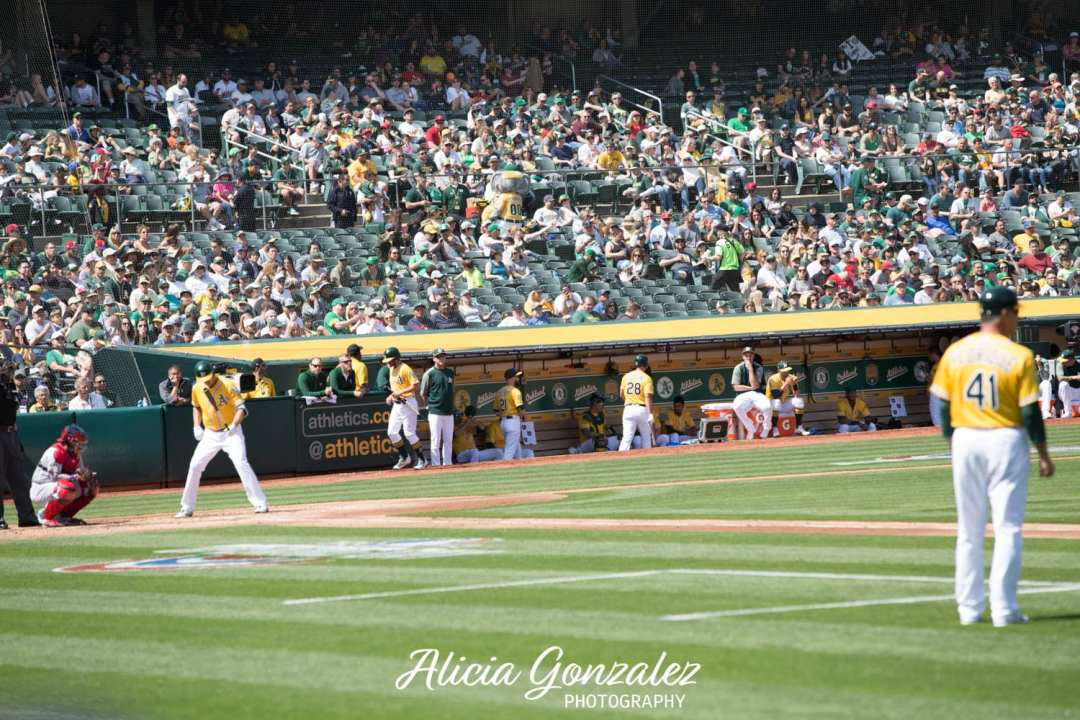 Oakland Athletics celebrates Cesar Chavez Day 8