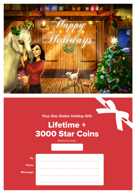 WIN Star Stable Lifetime Membership 25 Days Of