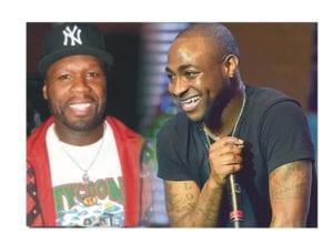 Davido and 50 Cent 300x210