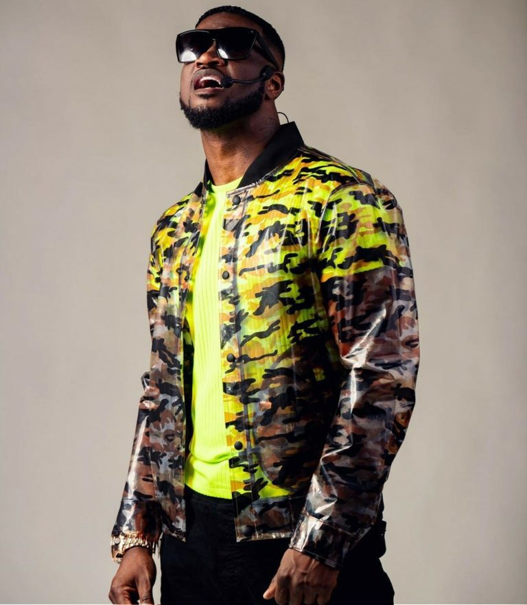 Peter Okoye Offers One Fan 30 seconds to Raid His Closet