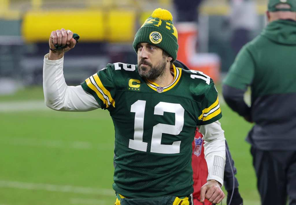 Here's when Aaron Rodgers is guest-hosting...