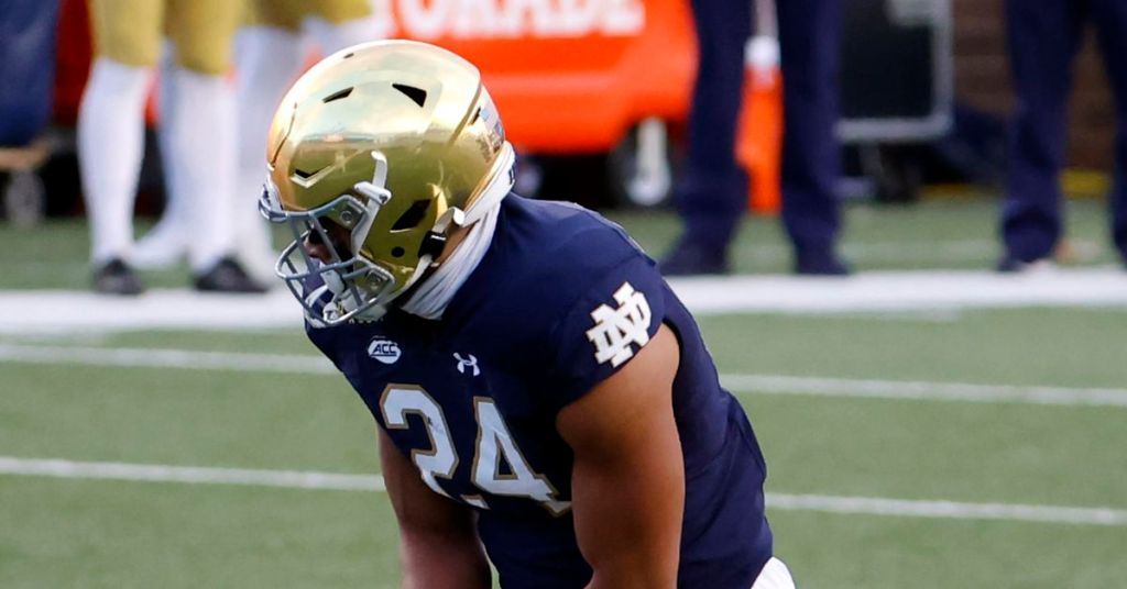 Cowboys 2021 draft prospects: Notre Dame TE Tommy...