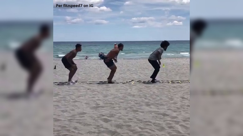 Watch: Minkah Fitzpatrick Busy Training On Delray...