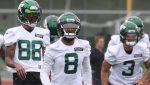 Elijah Moore turning heads during Jets' offseason...