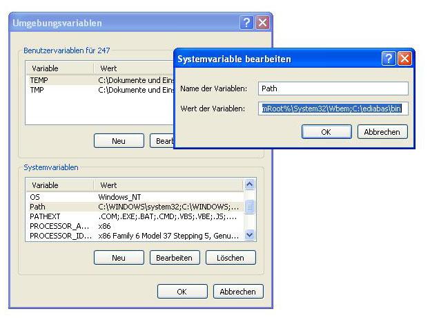 Inpa Installation Systemvariabele