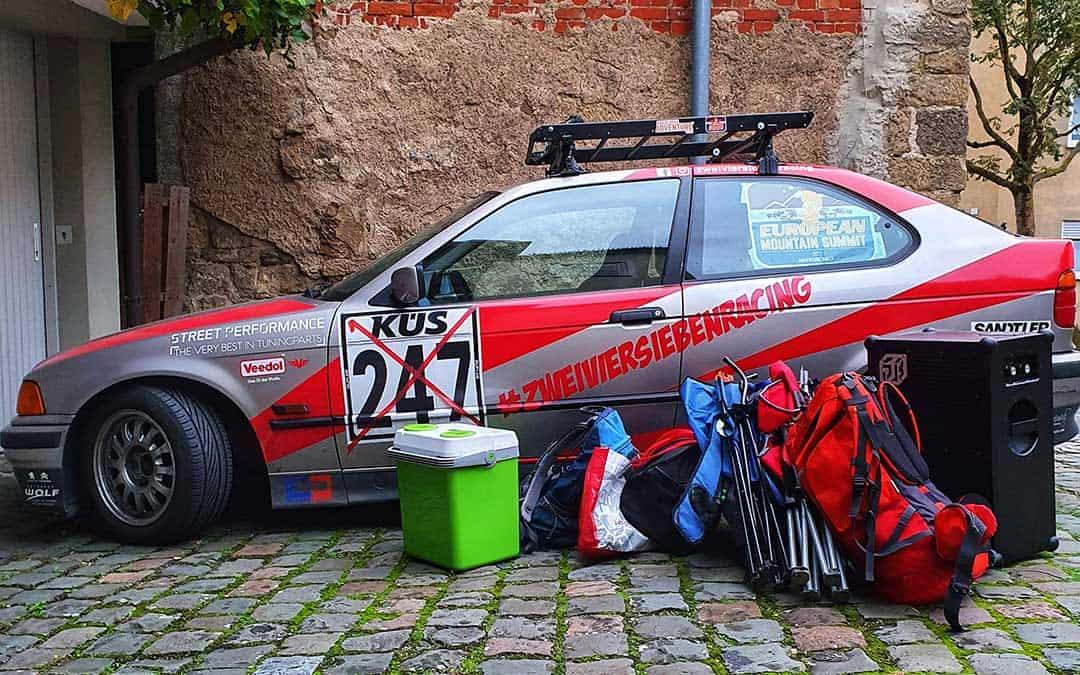 Die Abenteuer Rallye Vorbereitung