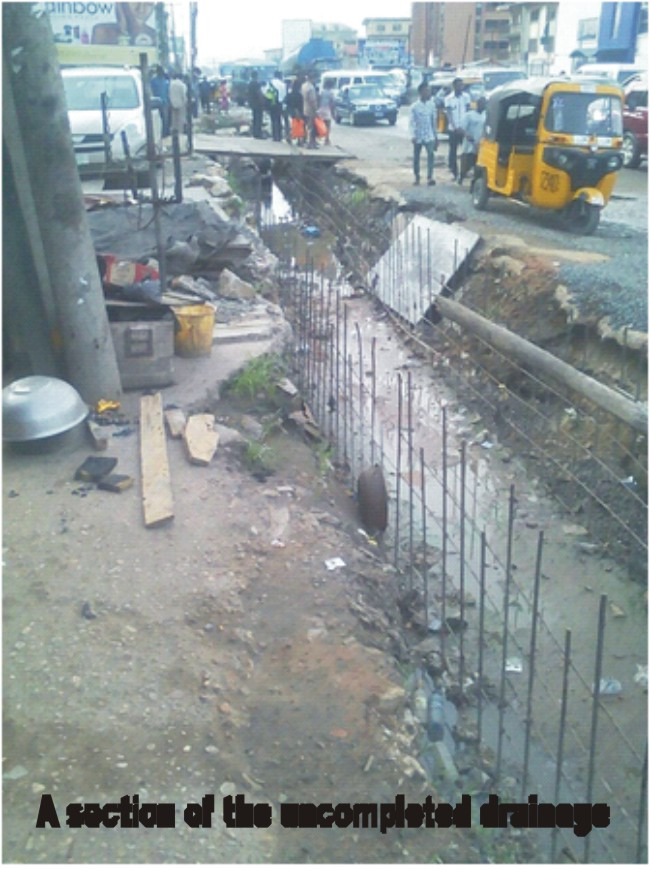 Image result for pictures of abandoned drainages in kaduna