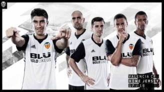 Valencia CF new kit 2017-2018