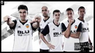 Valencia CF new kit 2017-2018