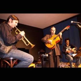 folk jazz arabe live
