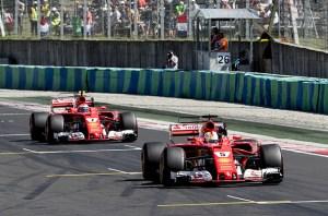 F1, Ungaria 2017: Dubla Ferrari, cu Vettel invingator