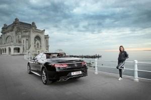 Simona Halep va conduce o serie de modele Mercedes-AMG