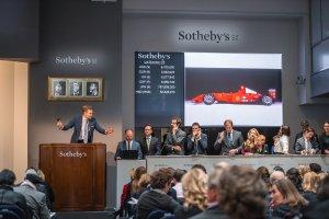 Ferrari F2001 pilotat de Michael Schumacher, adjudecat pentru 7,5 milioane dolari!