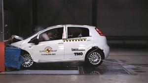 Fiat Punto – primul automobil cu zero stele Euro NCAP!