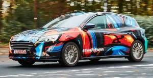 Prima imagine cu noul Ford Focus, asteptat pentru primavara anului 2018