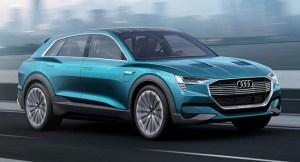 Audi da startul la rezervari pentru noul SUV electric, e-tron quattro, la SIAB 2018