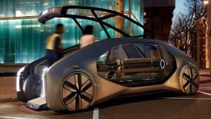 Renault EZ-GO – primul vehicul robot din lume conceput pentru carsharing urban