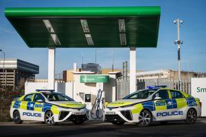 O flota de 11 automobile Toyota Mirai, pentru Politia Metropolitana din Londra
