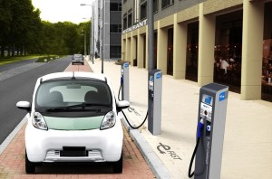Development of electric vehicle charging networks in Romania