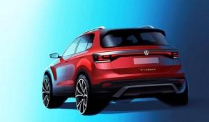 Volkswagen T-Cross – prima schita oficiala