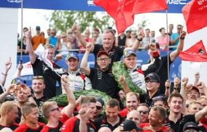 WRC, Finlanda 2018: Victorie pentru Ott Tanak si Toyota