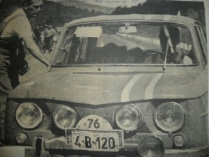 Scurta istorie in imagini a autoturismelor Renault 8 Gordini din Romania