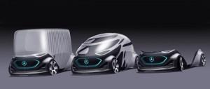 Mercedes-Benz Vision Urbanetic, o capsula autonoma pentru transportul de persoane sau marfuri