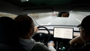Tesla Model 3 test drives with our friends in Europe