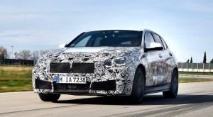 Noul BMW Seria 1 se afla in faza finala de teste pe circuit