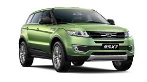 Land Rover a castigat un proces in China, impotriva unei clone a modelului Evoque