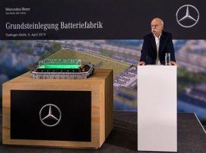 La Mercedes, standurile de motoare sunt inlocuite treptat de linii de productie pentru acumulatori