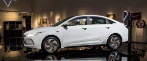 Geometry A, un nou sedan electric produs de Geely pentru piata globala