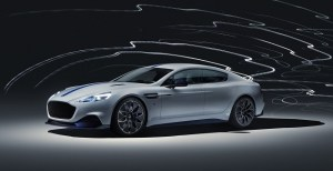 Rapide E este primul model 100% electric de la Aston Martin