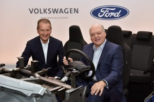 Ford si Volkswagen isi extind cooperarea in domeniul automobilelor electrice si autonome