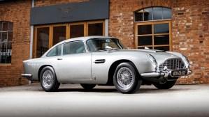 """Suma record pentru """"masina lui James Bond"""", un Aston Martin DB5 din 1965"""