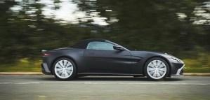 Primele imagini cu Aston Martin Vantage Roadster