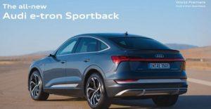 Al doilea membru al familiei Audi e-tron a vazut lumina rampei la Los Angeles