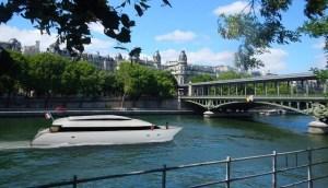 La Paris, vaporase echipate cu baterii recuperate de la Renault vor naviga pe Sena