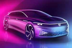 Volkswagen ID. Space Vizzion, un concept de break electric