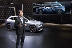 Mercedes EQA, SUV-ul 100% electric, confirmat pentru 2020