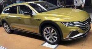 Așa arată Volkswagen Arteon Shooting Brake