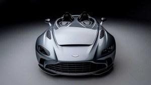 Aston Martin V12 Speedster este replica britanicilor la Ferrari Monza SP1 și SP2